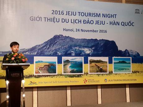 Ra mat Van phong dai dien So du lich Jeju tai Ha Noi - Anh 1