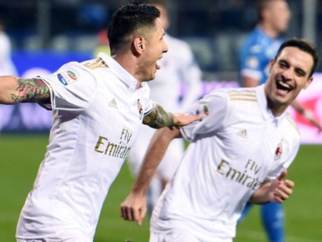Empoli 1-4 Milan: Suso, Lapadula toa sang, Milan len nhi bang - Anh 1