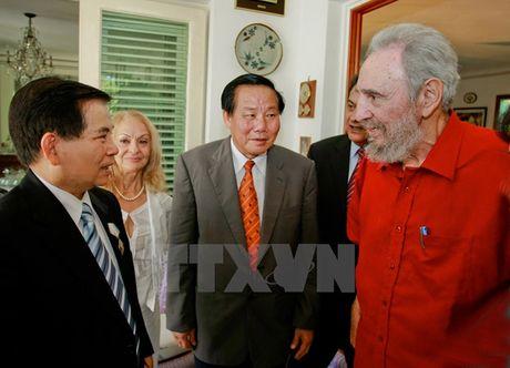 Hinh anh: Lanh tu Cuba Fidel Castro va cac nha lanh dao Viet Nam - Anh 14