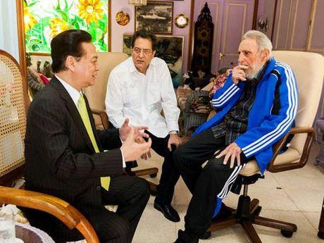 Hinh anh: Lanh tu Cuba Fidel Castro va cac nha lanh dao Viet Nam - Anh 15