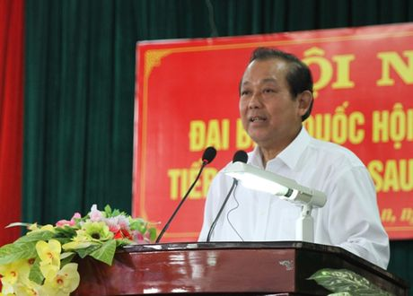 Giai quyet kien nghi cua cu tri phai thau tinh, dat ly - Anh 1