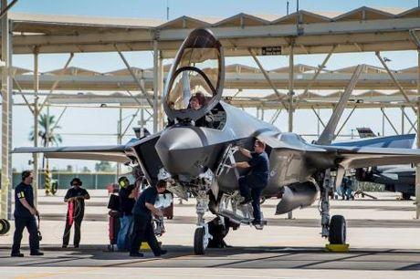 My dong y cho Israel be khoa F-35 - Anh 1