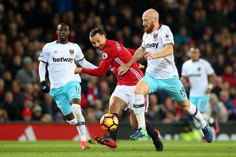 Clip M.U de West Ham cam hoa trong ngay Mourinho bi duoi - Anh 1