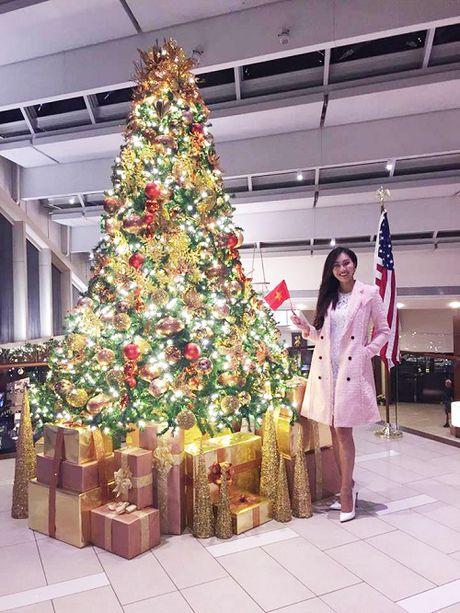 Hoa khoi Dieu Ngoc duoc khen khi thi tai nang Miss World - Anh 1