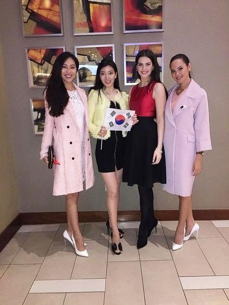 Hoa khoi Dieu Ngoc duoc khen khi thi tai nang Miss World - Anh 3