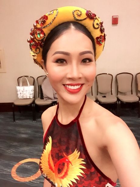 Hoa khoi Dieu Ngoc duoc khen khi thi tai nang Miss World - Anh 4