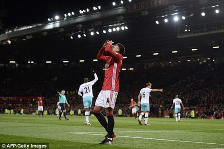 Man United 1-1 West Ham: Ma am Old Trafford - Anh 5
