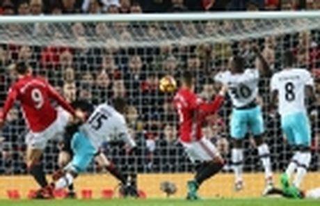 Hoa West Ham, M.U cua Mourinho lap ky luc te hai - Anh 4