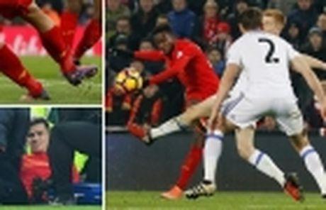 Messi ghi ban nhung van khong 'cuu' duoc Barcelona - Anh 14