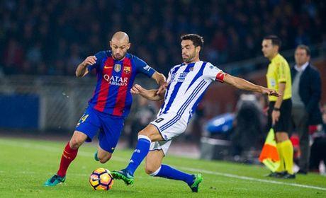 Messi ghi ban nhung van khong 'cuu' duoc Barcelona - Anh 3