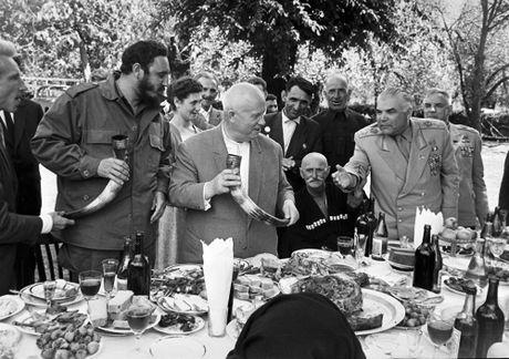 Loat anh hiem ve lanh tu Cuba Fidel Castro - Anh 12