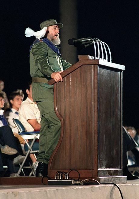 Loat anh hiem ve lanh tu Cuba Fidel Castro - Anh 13