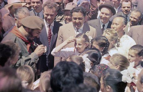 Loat anh hiem ve lanh tu Cuba Fidel Castro - Anh 15