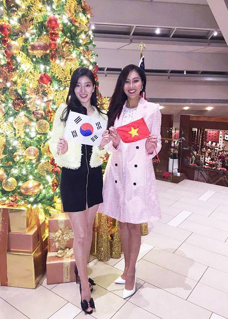 Hinh anh dau tien cua Dieu Ngoc tai HH The gioi 2016 - Anh 6