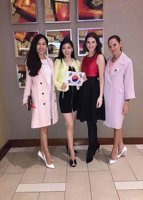 Hinh anh dau tien cua Dieu Ngoc tai HH The gioi 2016 - Anh 7