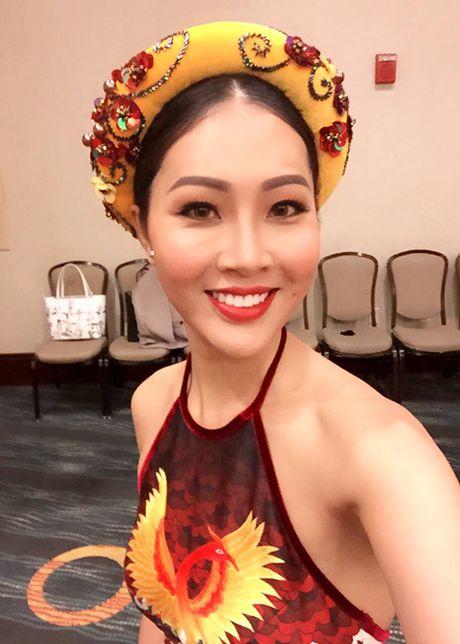 Hinh anh dau tien cua Dieu Ngoc tai HH The gioi 2016 - Anh 8