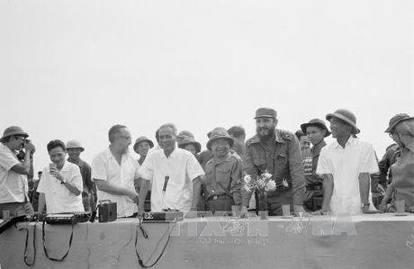 Chuyen tham lich su cua lanh tu Cuba Fidel Castro toi Quang Tri 1973 - Anh 11