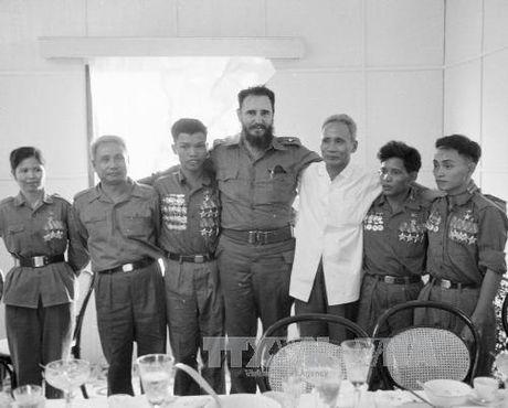 Chuyen tham lich su cua lanh tu Cuba Fidel Castro toi Quang Tri 1973 - Anh 5