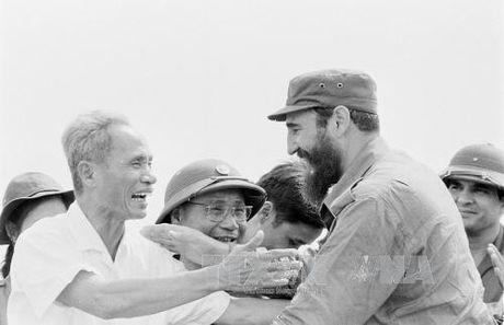 Chuyen tham lich su cua lanh tu Cuba Fidel Castro toi Quang Tri 1973 - Anh 6