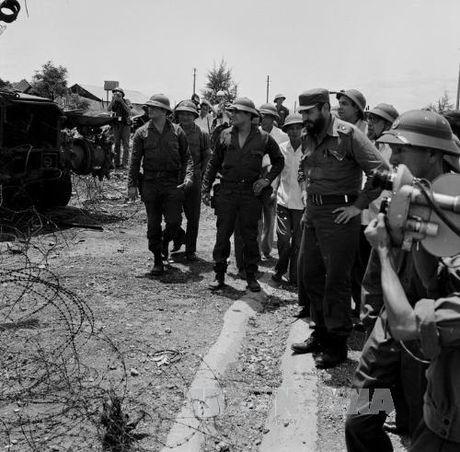Chuyen tham lich su cua lanh tu Cuba Fidel Castro toi Quang Tri 1973 - Anh 8