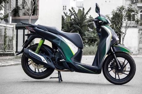 Honda SH doi cu do ao dau 'sieu ngau' tai VN - Anh 5
