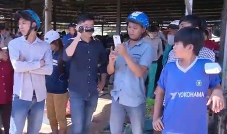Phong vien VTV bi can tro tac nghiep tai Ninh Thuan - Anh 1