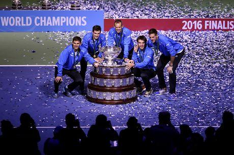 Del Potro toa sang, Argentina lan dau vo dich Davis Cup - Anh 1
