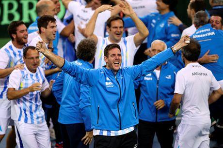 Del Potro toa sang, Argentina lan dau vo dich Davis Cup - Anh 2