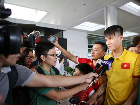 HLV truong tuyen Viet Nam Huu Thang: 'So nhat la thang hay thua deu vo cam' - Anh 1
