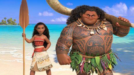 Hanh trinh cua Moana - Than thoai Hy Lap theo phong cach Polynesia - Anh 1