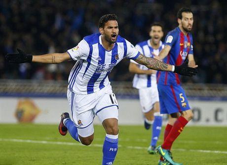 Messi ghi ban, Barcelona van mat diem truoc Sociedad - Anh 3