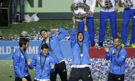 Tennis 24/7: Del Potro gay ngon tay van giup Argentina vo dich - Anh 1