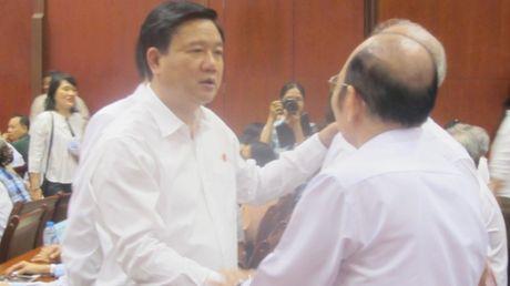 Bi thu Dinh La Thang: Phong chong tham nhung la cong viec het suc kho khan - Anh 1