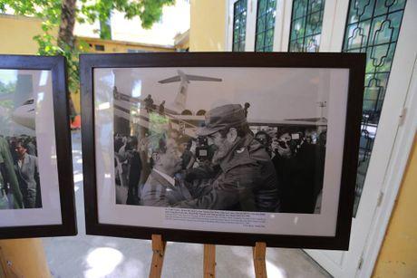Lanh dao Dang, Nha nuoc, Chinh phu cung nguoi dan toi vieng lanh tu Cuba Fidel Castro - Anh 6