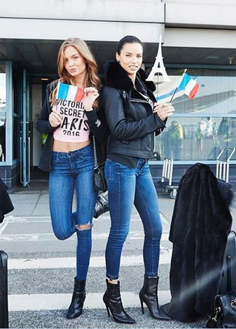 Can canh dan chan dai Victoria's Secret do bo Paris - Anh 2