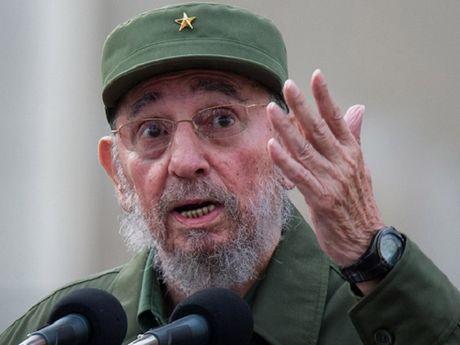 Trieu Tien de quoc tang 3 ngay lanh tu Cuba Fidel Castro - Anh 1