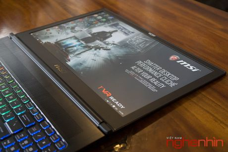 Danh gia gaming laptop sieu mong MSI GS63VR Stealth Pro - Anh 10