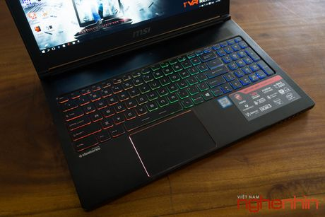 Danh gia gaming laptop sieu mong MSI GS63VR Stealth Pro - Anh 12