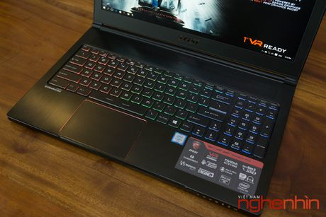 Danh gia gaming laptop sieu mong MSI GS63VR Stealth Pro - Anh 13