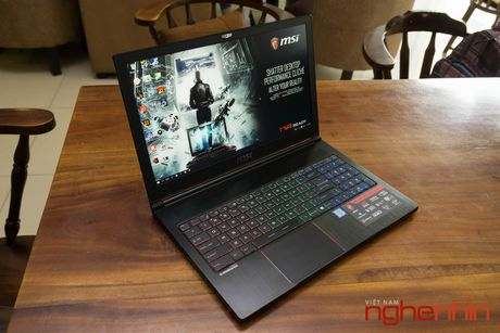 Danh gia gaming laptop sieu mong MSI GS63VR Stealth Pro - Anh 1