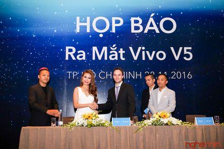 Vivo V5 camera selfie 20MP ra mat thi truong Viet gia 6 trieu - Anh 1