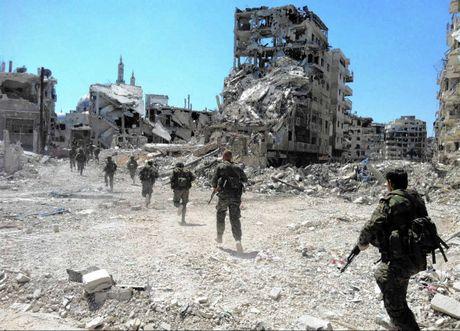 Quan doi Syria tai chiem thanh cong khu vuc chien luoc o Aleppo - Anh 1