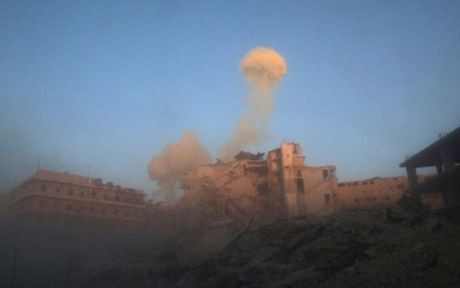 Phe doi lap Syria lien tiep bai tran truoc quan chinh phu o Aleppo - Anh 1