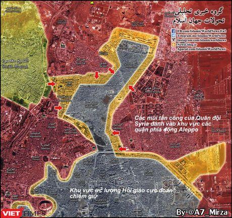 Chum video chien su Aleppo: Tan khoc chao lua vua sach bong phien quan - Anh 1