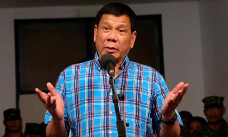 Duterte xem thuong de doa bi truy to truoc Toa hinh su quoc te - Anh 1