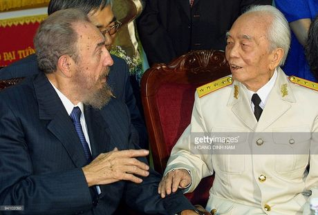 Cuoc gap cuoi cung cua Chu tich Fidel Castro va Dai tuong Vo Nguyen Giap - Anh 1