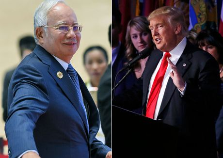 Trump dien cho thu tuong Malaysia, that chat quan he - Anh 1