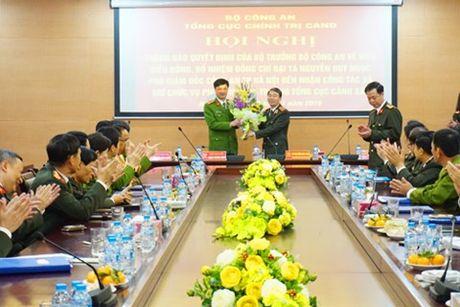 Bo nhiem Pho Tong cuc truong Tong cuc Canh sat - Anh 1