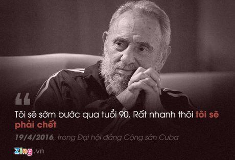 Fidel Castro: 'Trai tim toi lam bang thep' - Anh 10