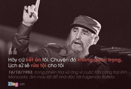 Fidel Castro: 'Trai tim toi lam bang thep' - Anh 1